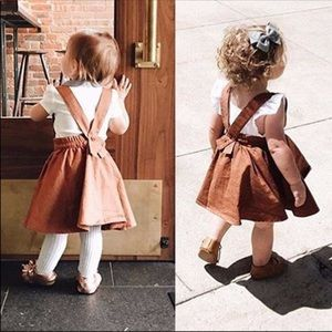 c0066d8f9143 Dresses | Rust Suspender Skirt | Poshmark